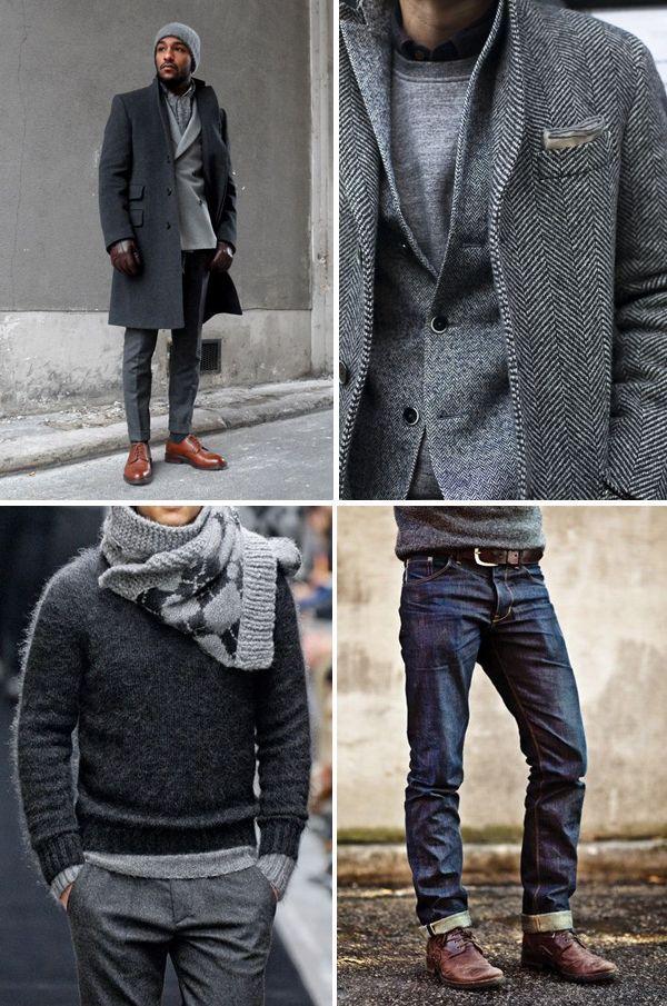 варианты удачных сочетаний с пиджаком серого цвета