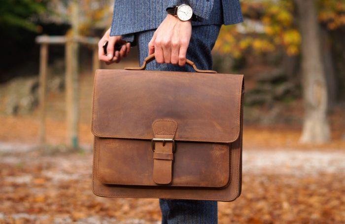 мужские портфели из кожи