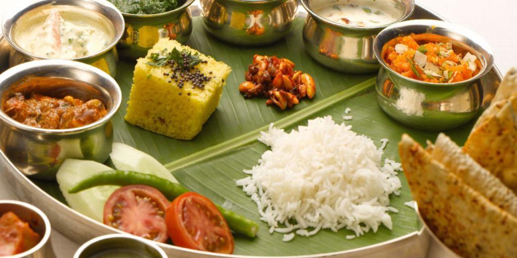 Вегетарианская индийская еда