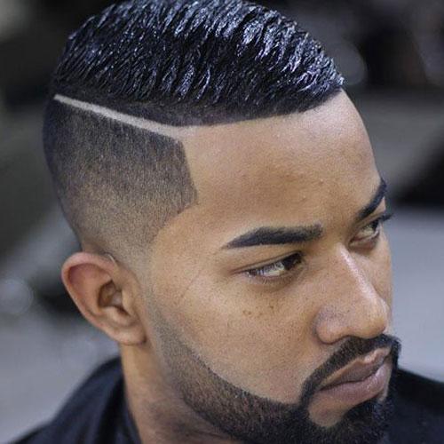 Прически на жесткие мужские волосы