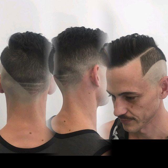 Стильные укладки для жестких мужских волос