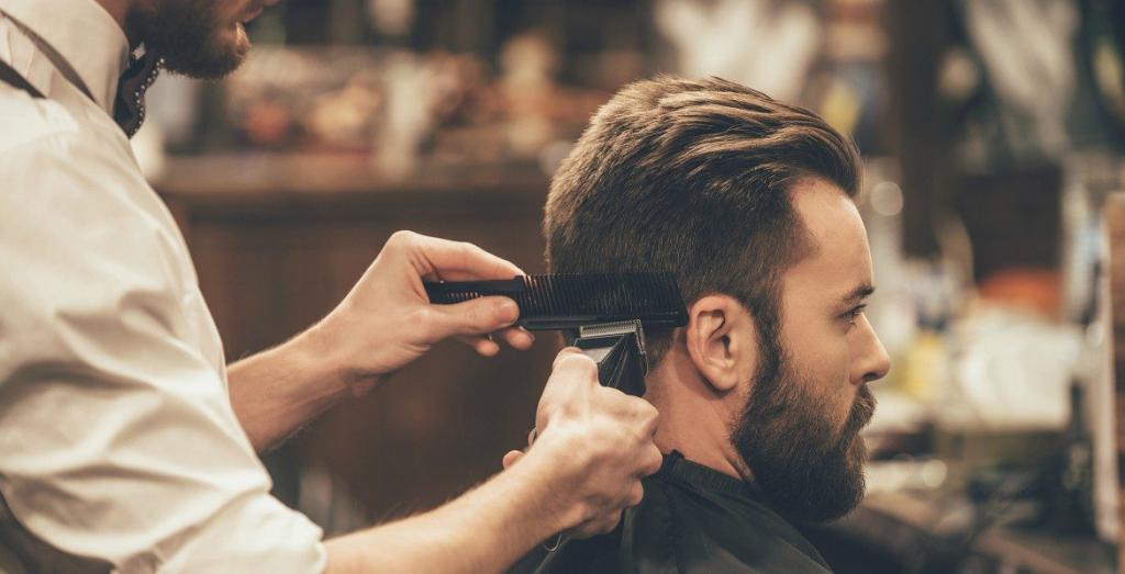 Мужская стрижка для жестких волос в салоне