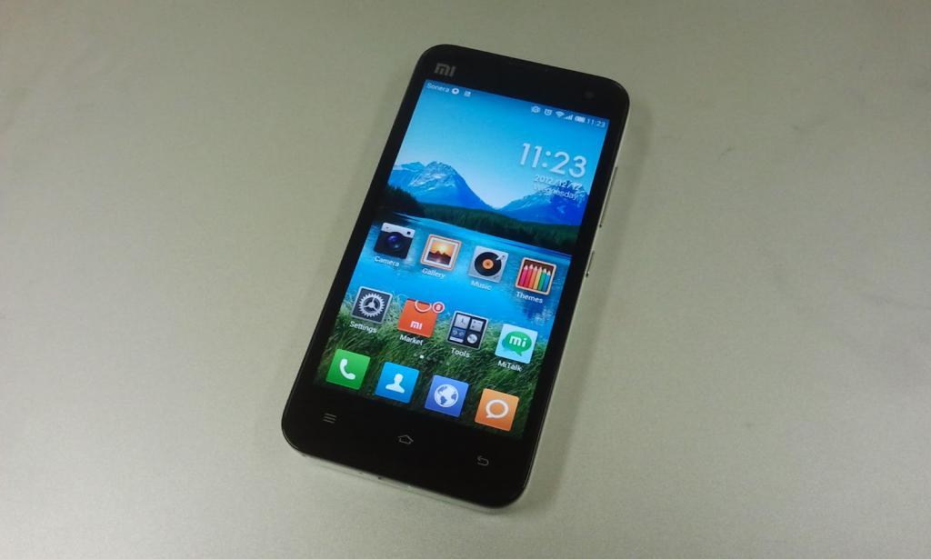 внешний вид смартфона сяоми