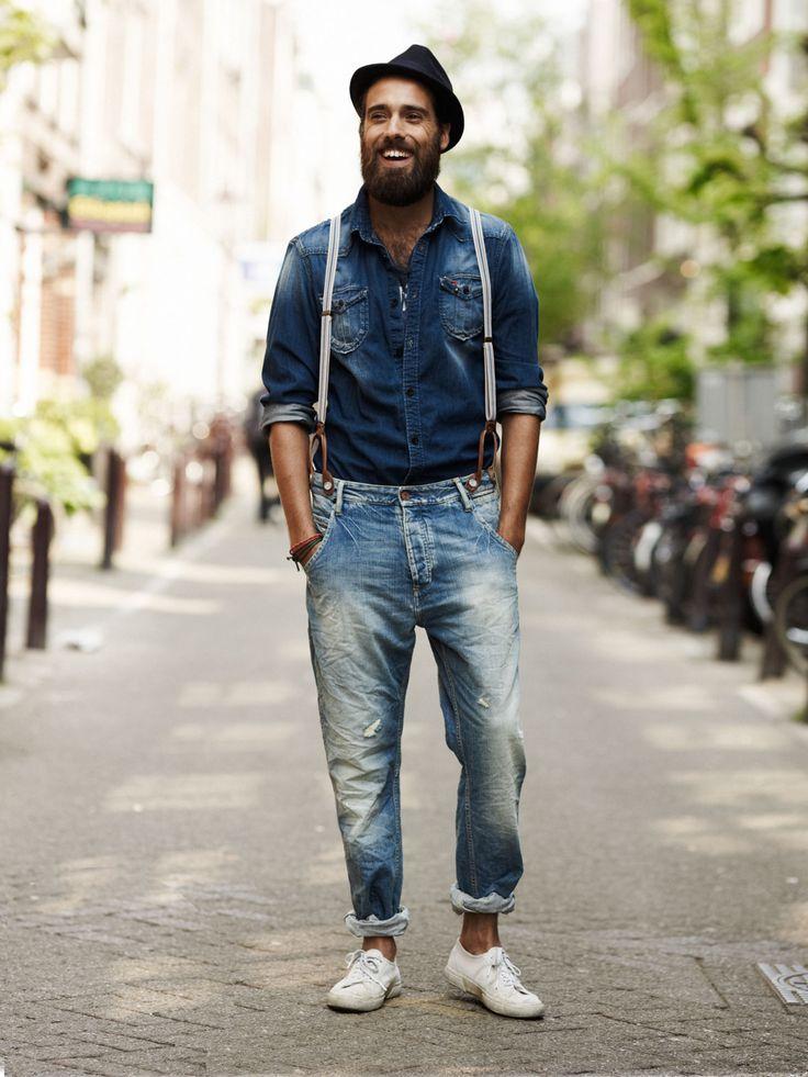 джинсовый тотал-лук