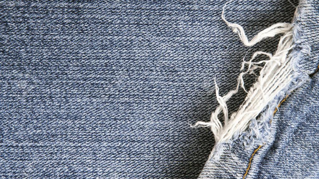 испорченные джинсы