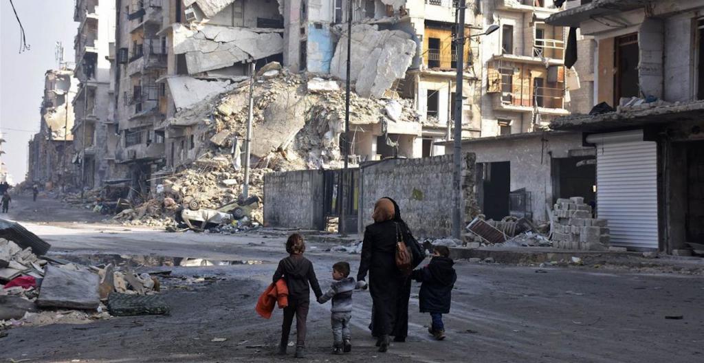 Международная ответственность в Сирии