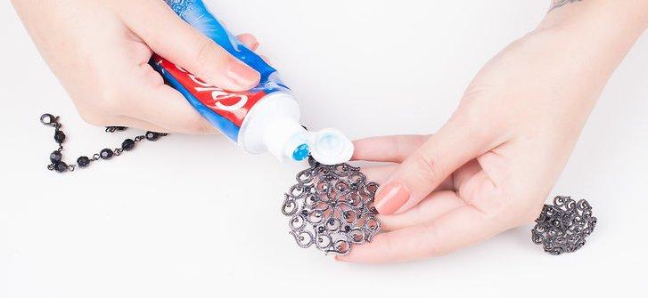 чернение и чистка серебра