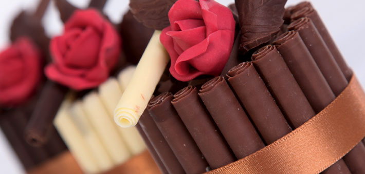 Оригинатьные подарки от шоколатье