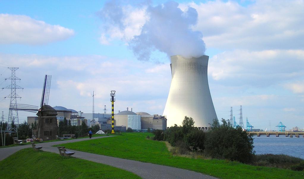 Атомная электростанция в Германии