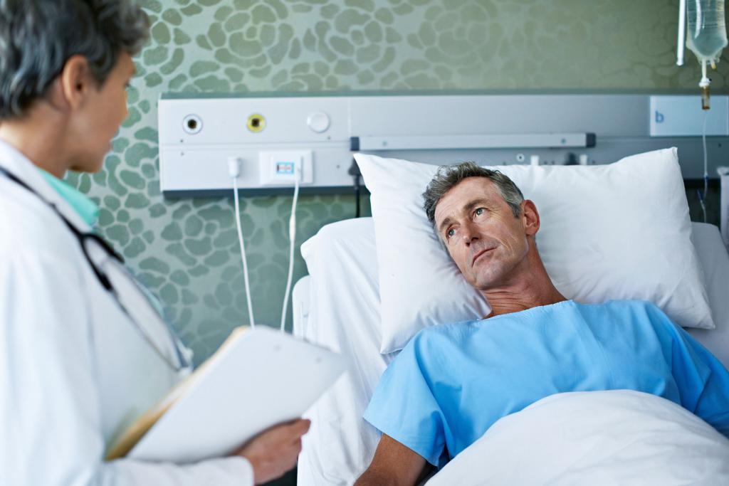 Лечение язвы с кровотечением
