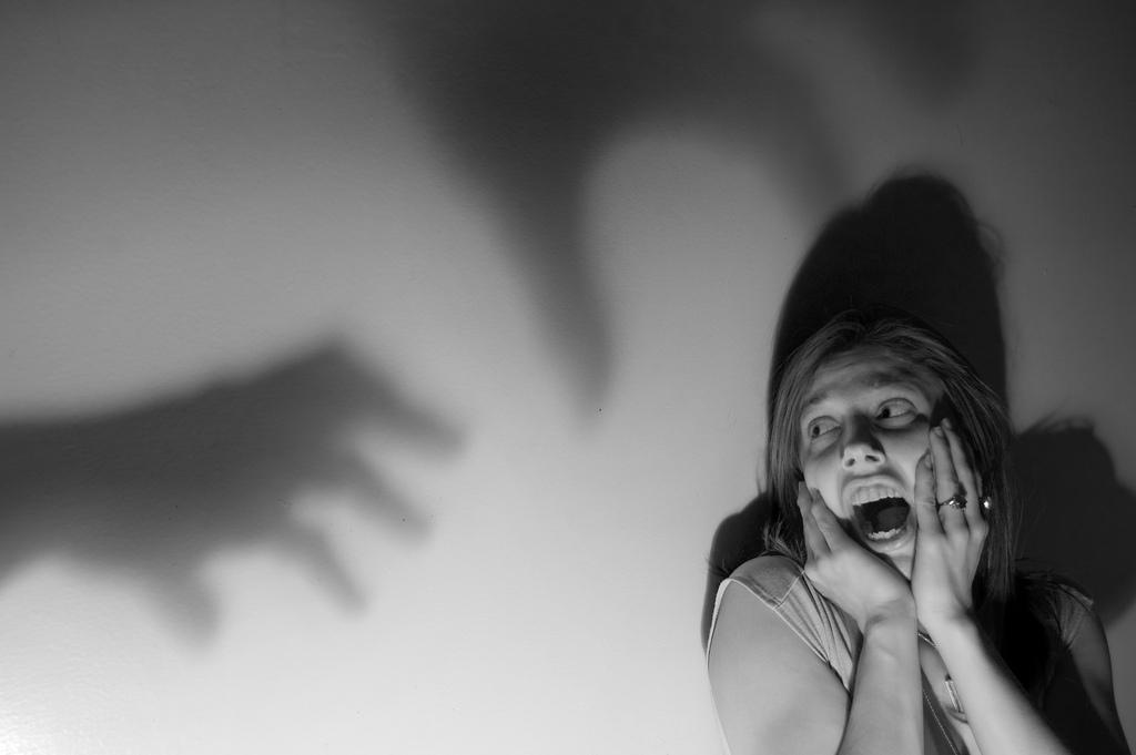 Фото испуганного человека