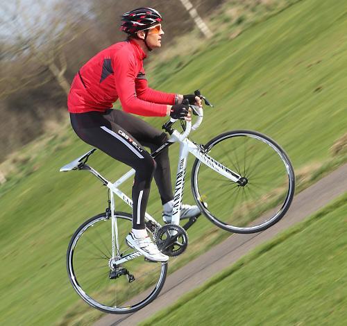 Испытание велосипедных грипсов