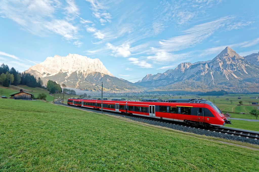 Поезд по Италии
