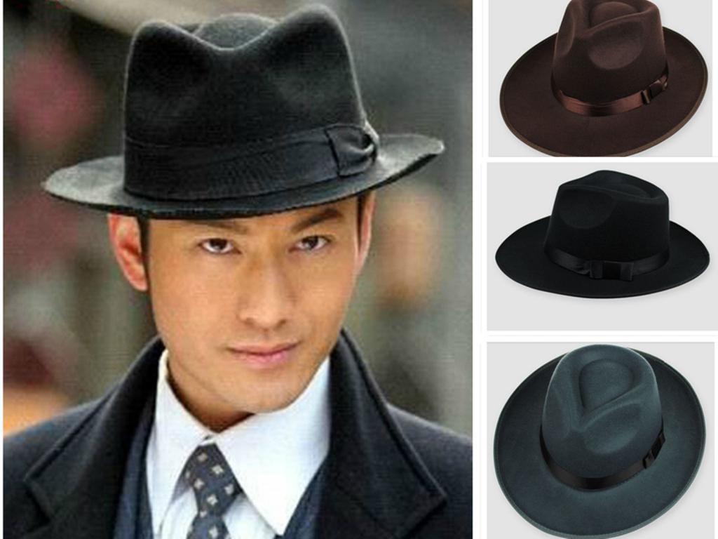 Классическая фетровая шляпа