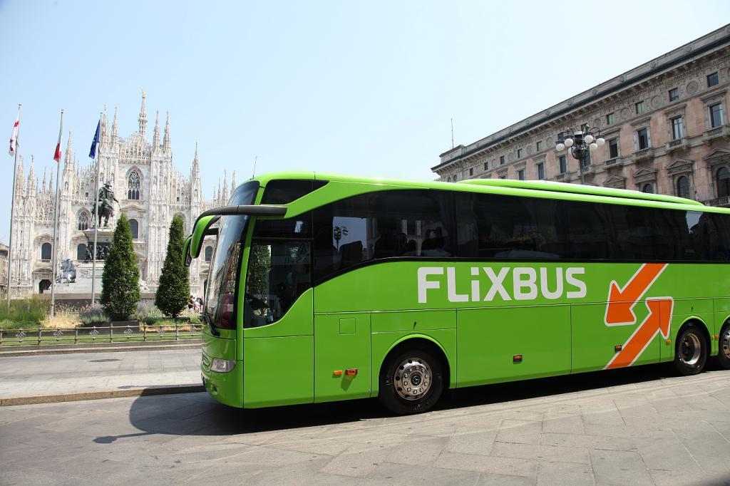 Автобус по Италии