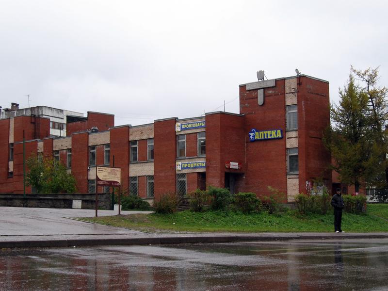 Ленинградская область поселок Первомайское