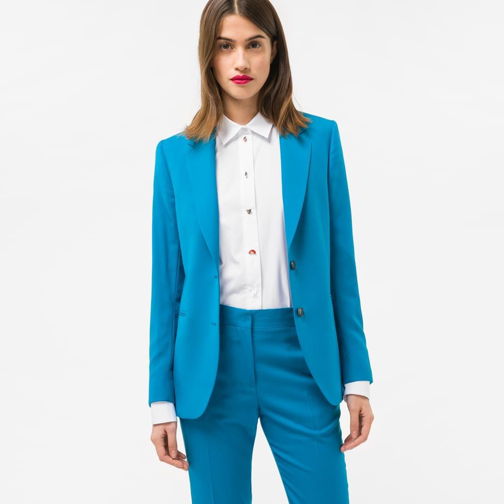 как застегивать пиджак с двумя пуговицами женский