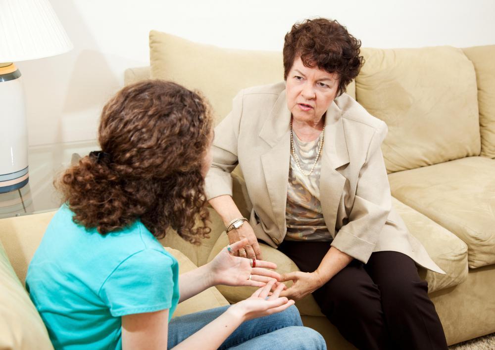 беседа психолога с подростком