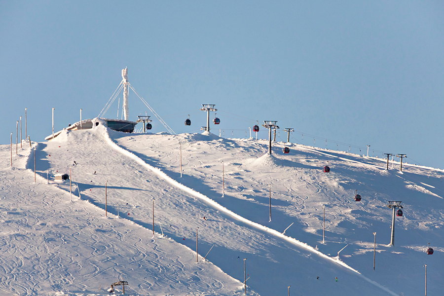 горнолыжная база в Красноярске