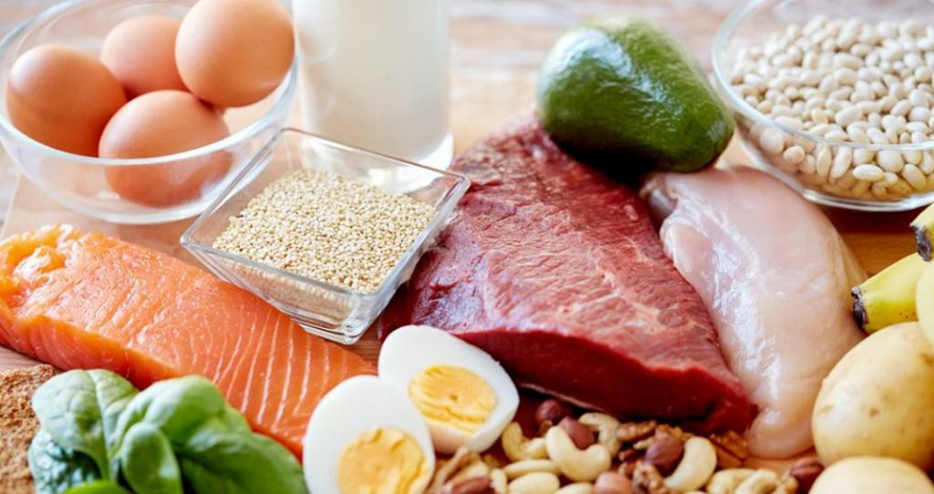 Еда с глютамином