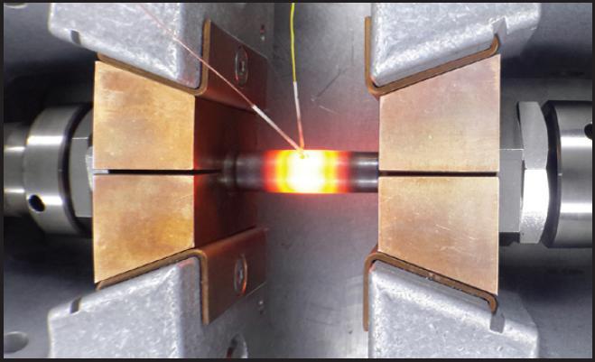 Исследование свойств жаропрочности