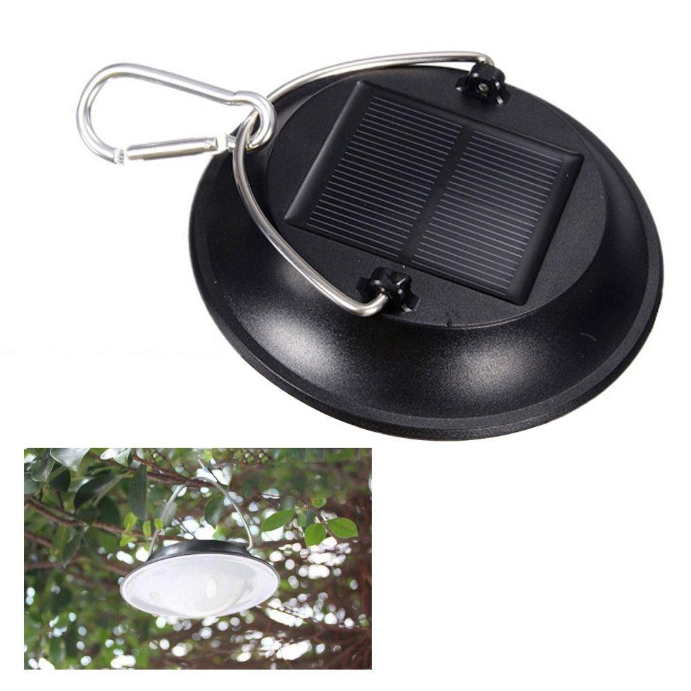 компактный туристический фонарь с солнечной батареей