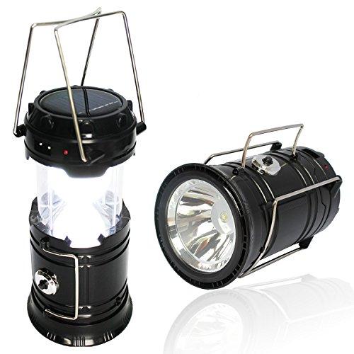 классический кемпинговый фонарь с солнечной батареей