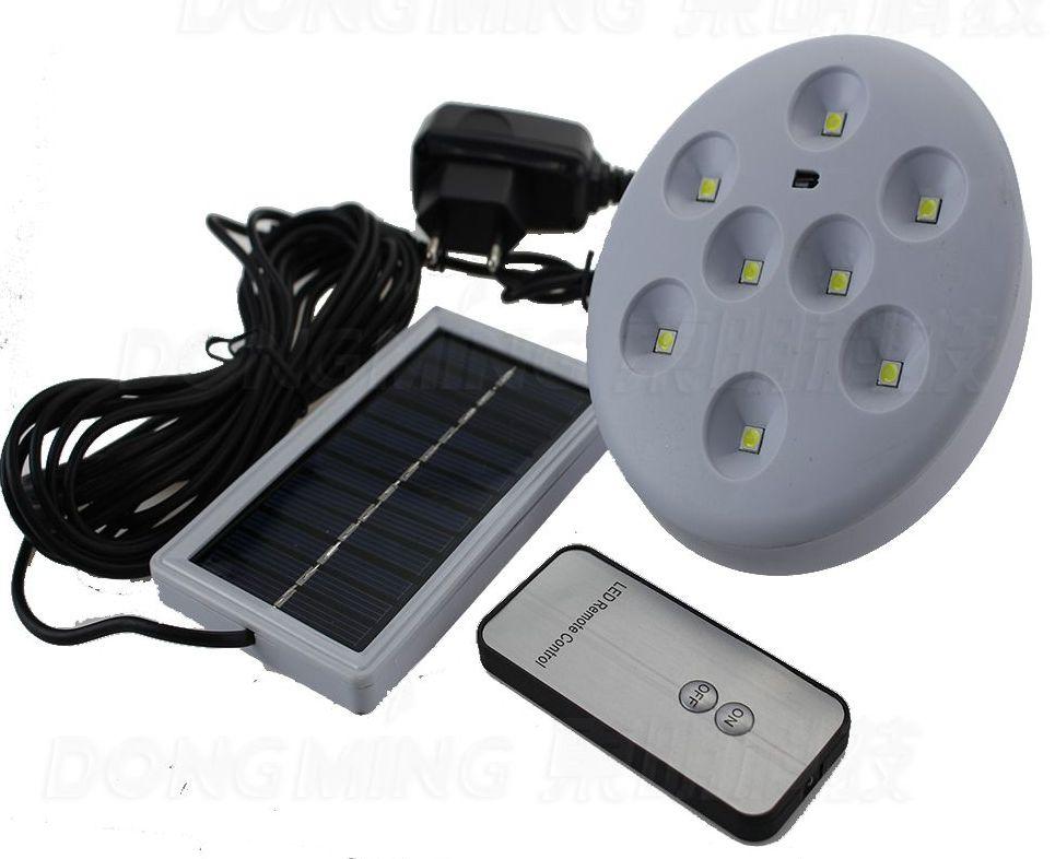 компактный фонарь с выносной солнечной батареей