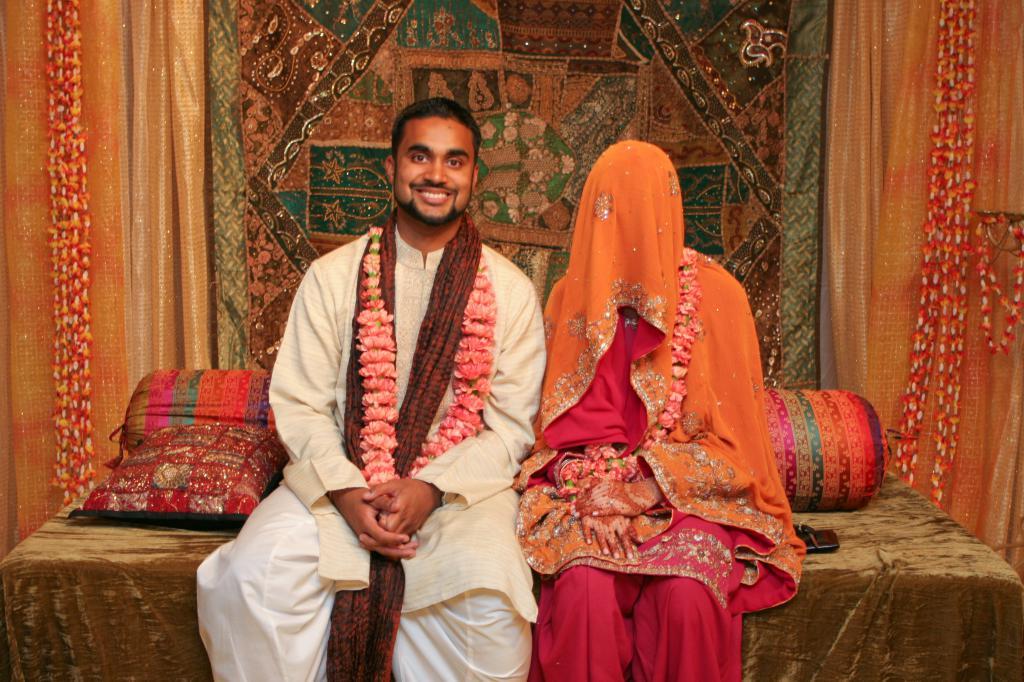 Мусульманская пара