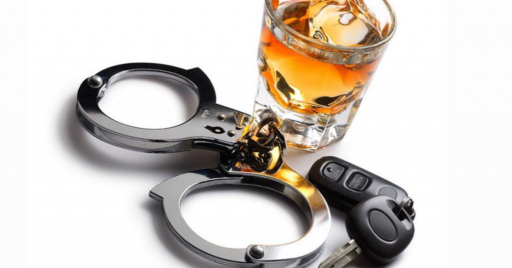 Наказание за распитие алкоголя за рулем