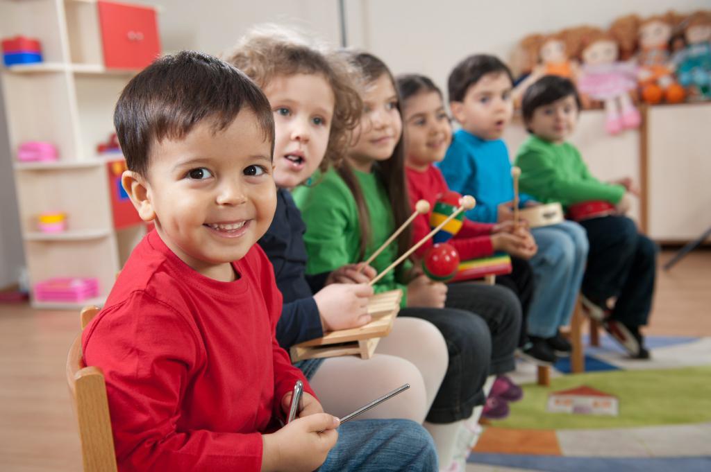 эстетическое воспитание в детском саду