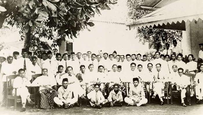 Конгресс молодежи в Индонезии 1928