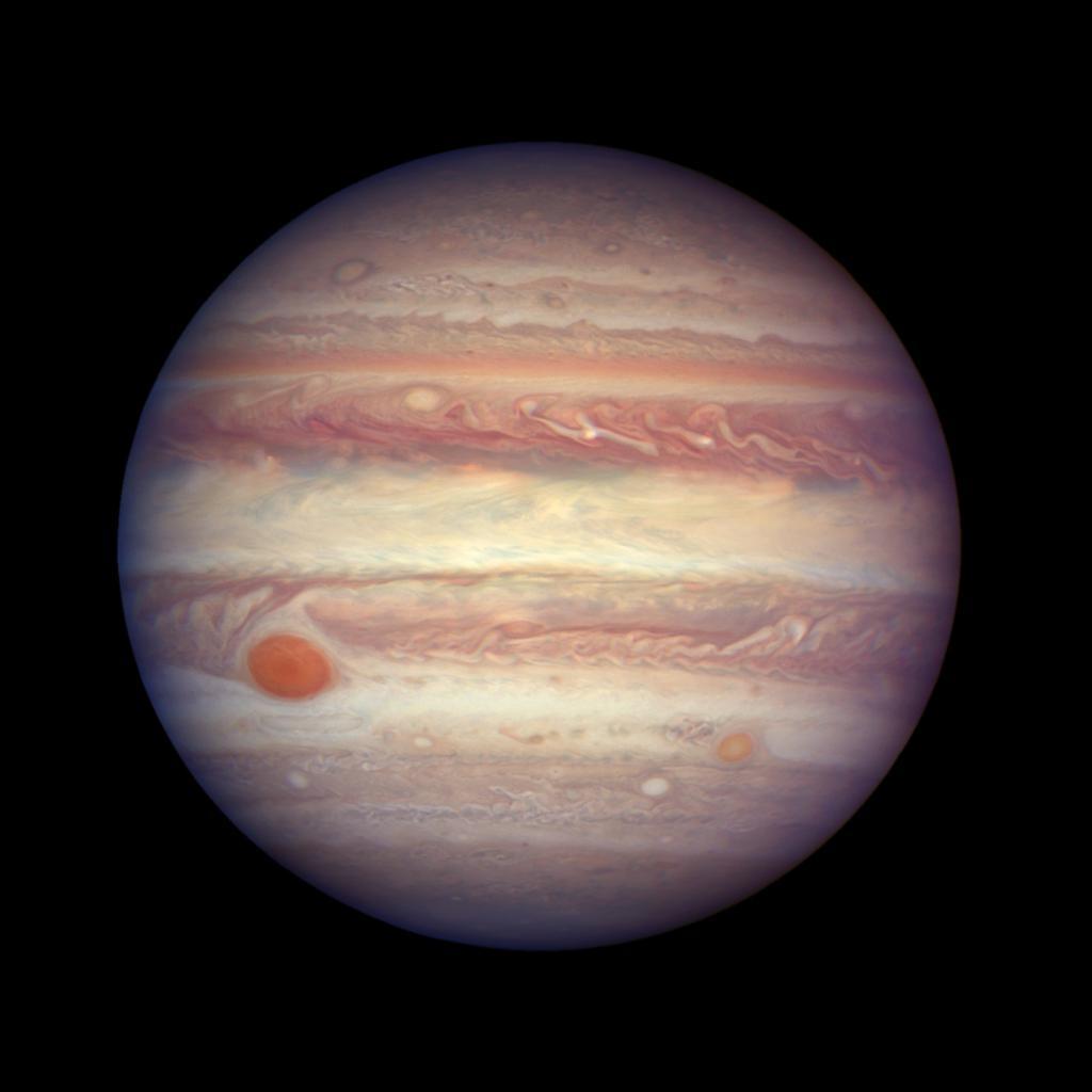 Юпитер вид из космоса