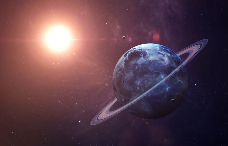 Внешний вид планеты Уран
