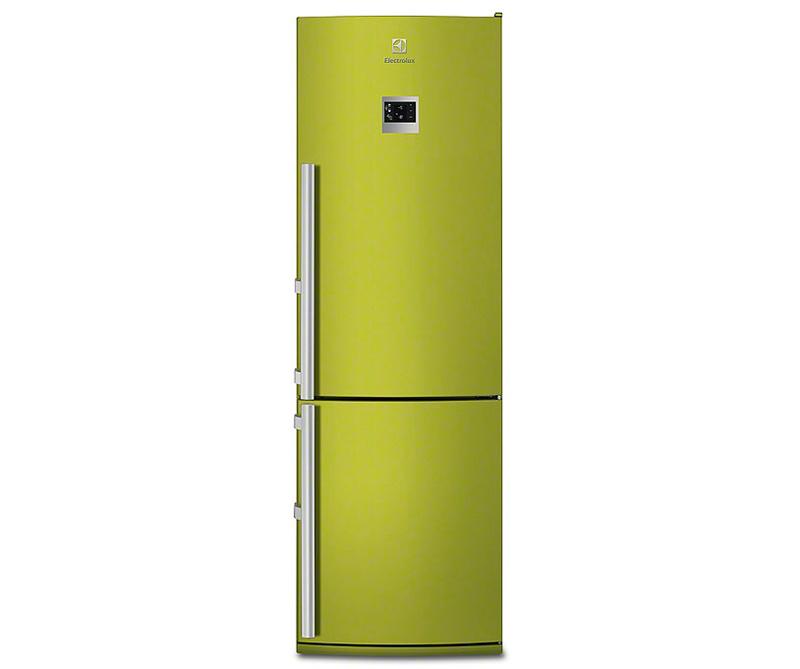 """Зеленый холодильник """"Электролюкс"""""""