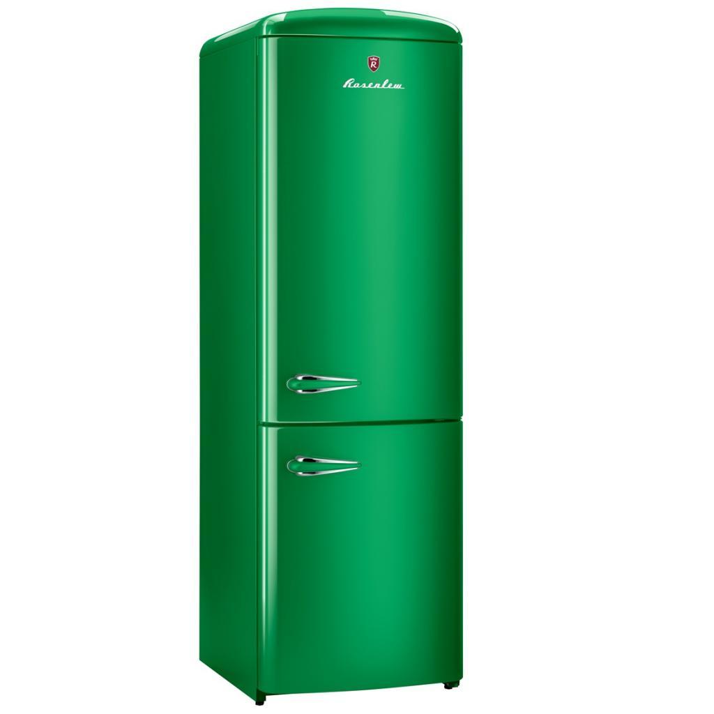 Зеленый холодильник Rosenlew