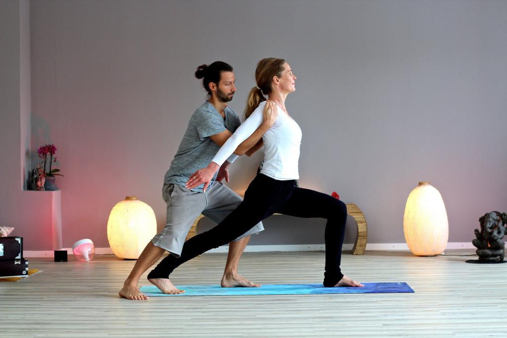 йога с тренером