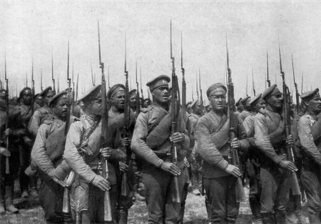 первая мировая война 1914 1918 сражения