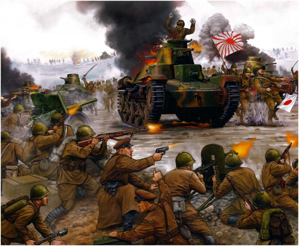 боевые действия у реки халкин гол 1939