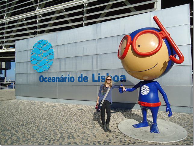 Талисман океанариума в Лиссабоне