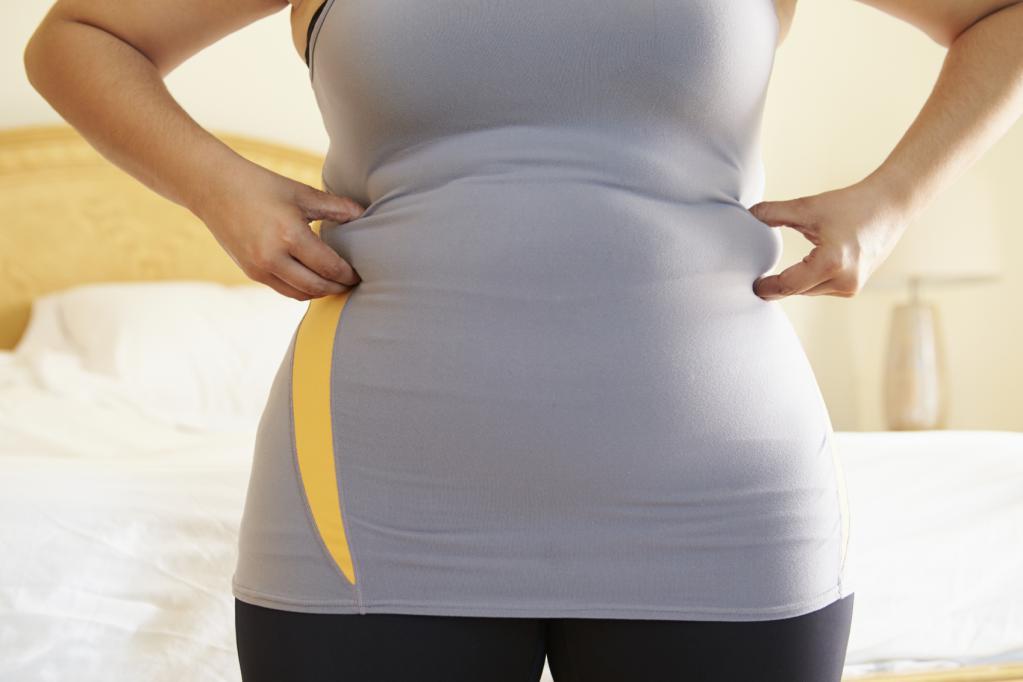 Жир на боках
