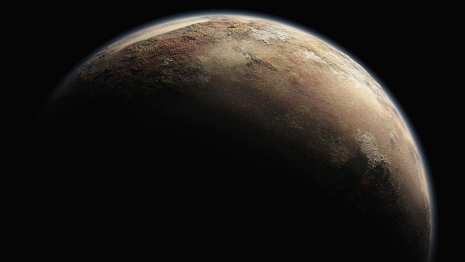 Плутон в космосе