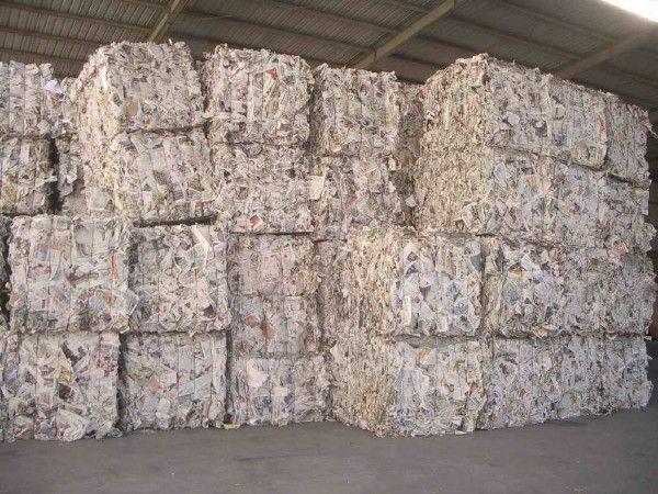 сбор бумаги