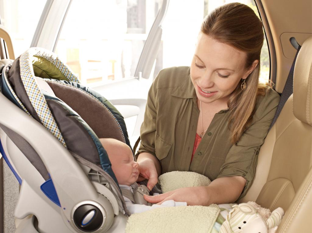 как установить автолюльку на переднее сиденье