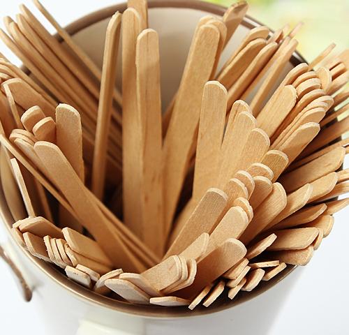 Деревянная палочка для кофе