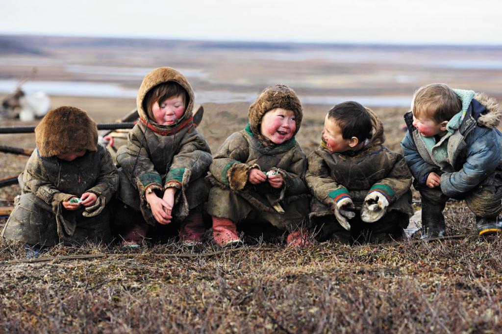 ненецкие дети
