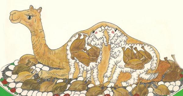фаршированный верблюд