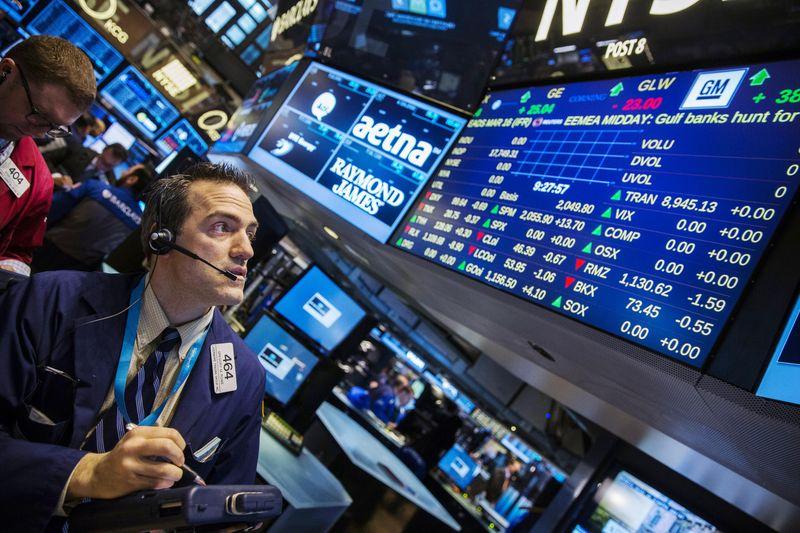 Биржевые торги в США