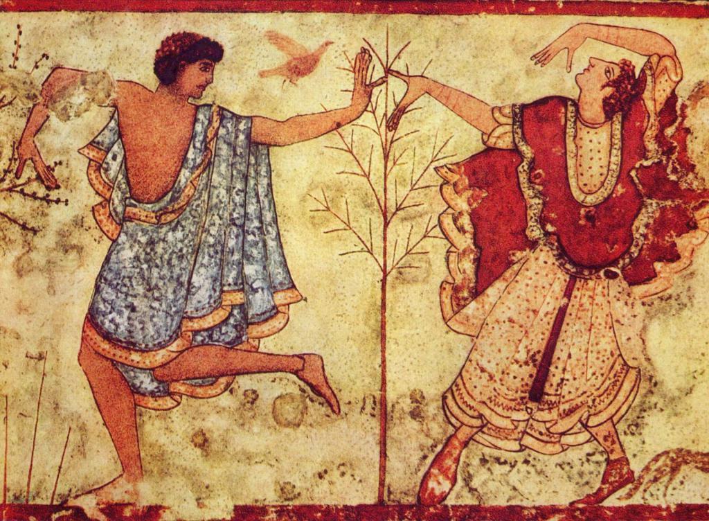 Древняя фреска о клятве