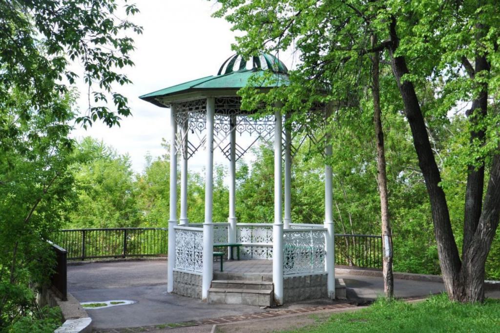 Сад имени Салавата Юлаева